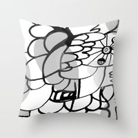 A Lot of Things Throw Pillow