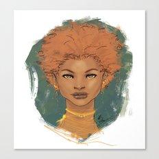 The brave love Canvas Print
