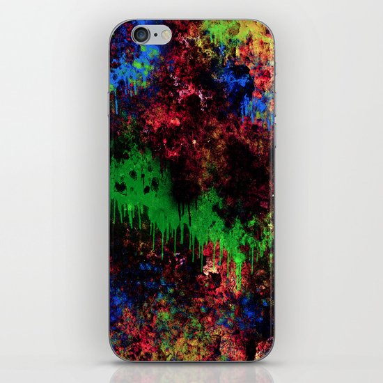 The Night Turns To Rust iPhone & iPod Skin