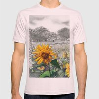 Girasoli Mens Fitted Tee Light Pink SMALL