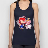 Lotje and the farm animals Unisex Tank Top