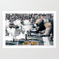 Chicago Bears - Bear Down Art Print