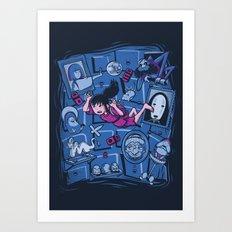 Chihiro in Spiritland Art Print