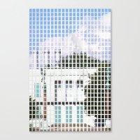 windows- vacancy zine Canvas Print