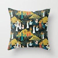 Ancient Egypt Throw Pillow