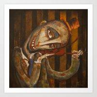 Cirque 3 Art Print
