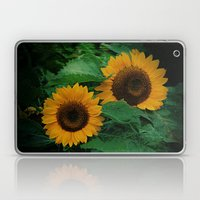 Sonnen Blumen  Laptop & iPad Skin