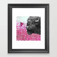 Framed Art Print featuring New Friends 4 By Eric Fa… by Eric Fan