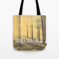 Prince Avalanche - Movie Poster Tote Bag