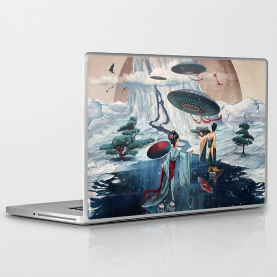 Holiday ice Laptop & iPad Skin