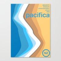 Pacifica Single Hop Canvas Print