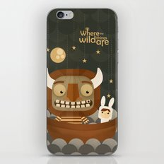 Where the wild things are fan art iPhone & iPod Skin