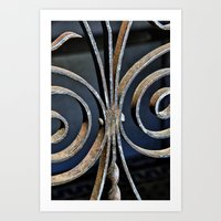 Iron At The Crypt Art Print