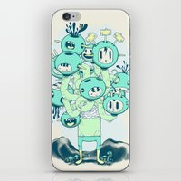 Many Heads are Better than None iPhone & iPod Skin