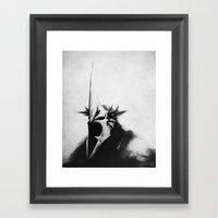 WITCH-KING Framed Art Print