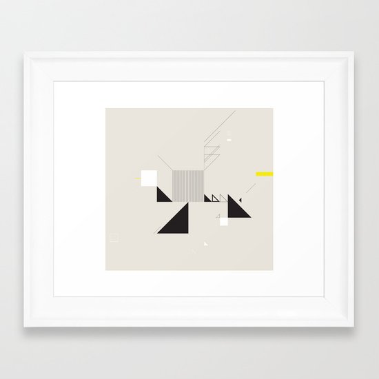 ‡  xIx  ‡ Framed Art Print