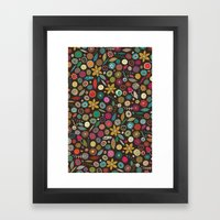 Daffodil Pop Framed Art Print