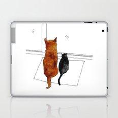 cat and dog  Laptop & iPad Skin