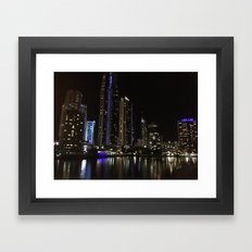 Nightlife Framed Art Print