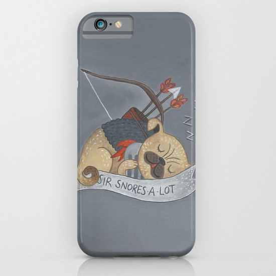 Sir Snores-A-Lot iPhone & iPod Case