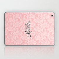 I believe in Miracles Pink Lace  Laptop & iPad Skin