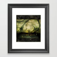 Le Grand Sept-trois-quar… Framed Art Print