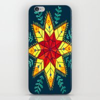 Folk Star iPhone & iPod Skin