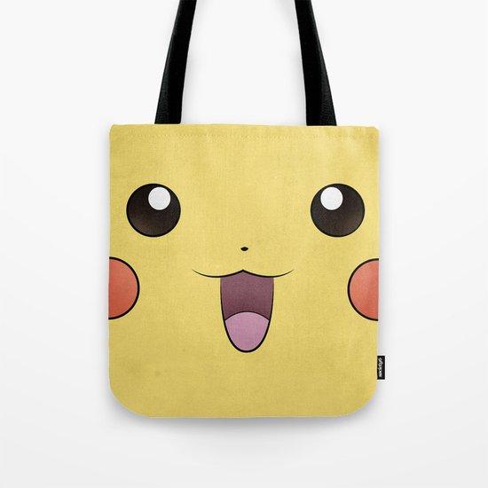 Pikachu - Minimal Pokemon Poster Tote Bag