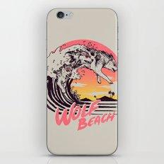 Wolf Beach iPhone & iPod Skin