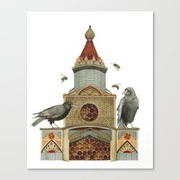 Of Hive and Home // Polanshek Canvas Print
