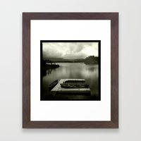boats and no hoes Framed Art Print