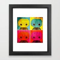 Andy Pop! Framed Art Print