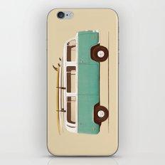 Blue Van iPhone & iPod Skin