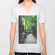 A Woodland Path Unisex V-Neck
