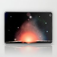 Laptop & iPad Skin featuring IN THE BEGINNING - 019 by Lazy Bones Studios