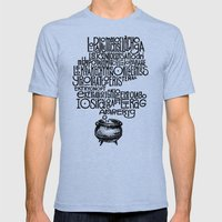 Something smells good! Mens Fitted Tee Tri-Blue SMALL