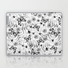 Butterflies And Bees Laptop & iPad Skin