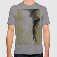 Lightdancer Mens Fitted Tee Athletic Grey SMALL