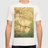 Whisper Mens Fitted Tee Natural SMALL