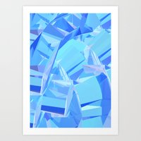 Compression Art Print