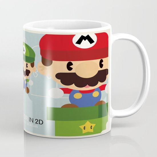 mario bros 2 fan art Mug