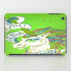 You is for Unicorn iPad Case