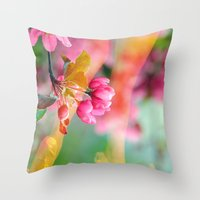 Danse du Printemps Throw Pillow