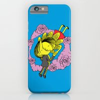 iPhone & iPod Case featuring Kiss Of Night and Day by W.H.Tham