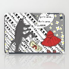 Little Red Riding Hood by Piarei iPad Case