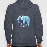 Elefante Blu Hoody