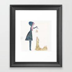 Félicité Framed Art Print