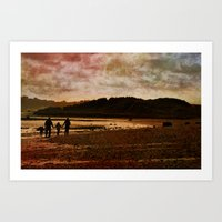 Family Time Art Print