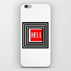 Welcome iPhone & iPod Skin