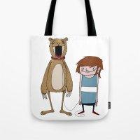 Pet Bear Tote Bag